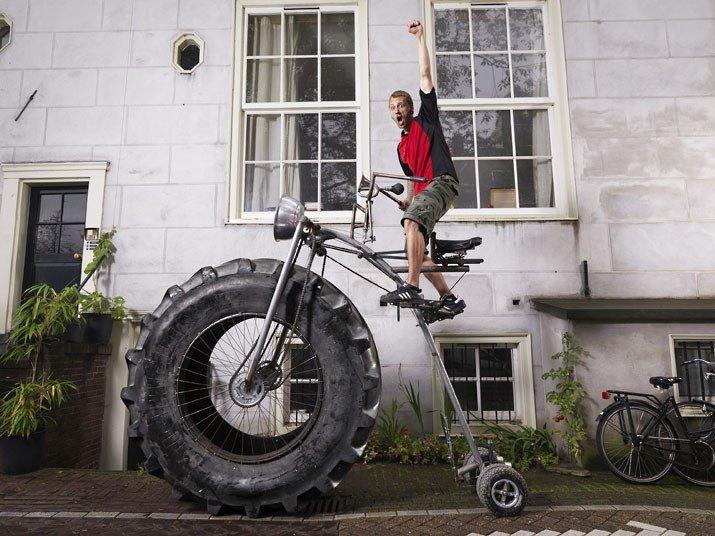 Самый большой в мире велосипед